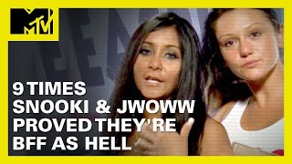 9 Times Snooki \u0026 JWoww Proved They're BFF As Hell 👯 | MTV Ranked