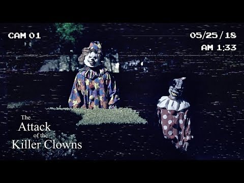THE MAGICAL SCARY CLOWNS FOLLOWED US ON TOUR!! **insane**
