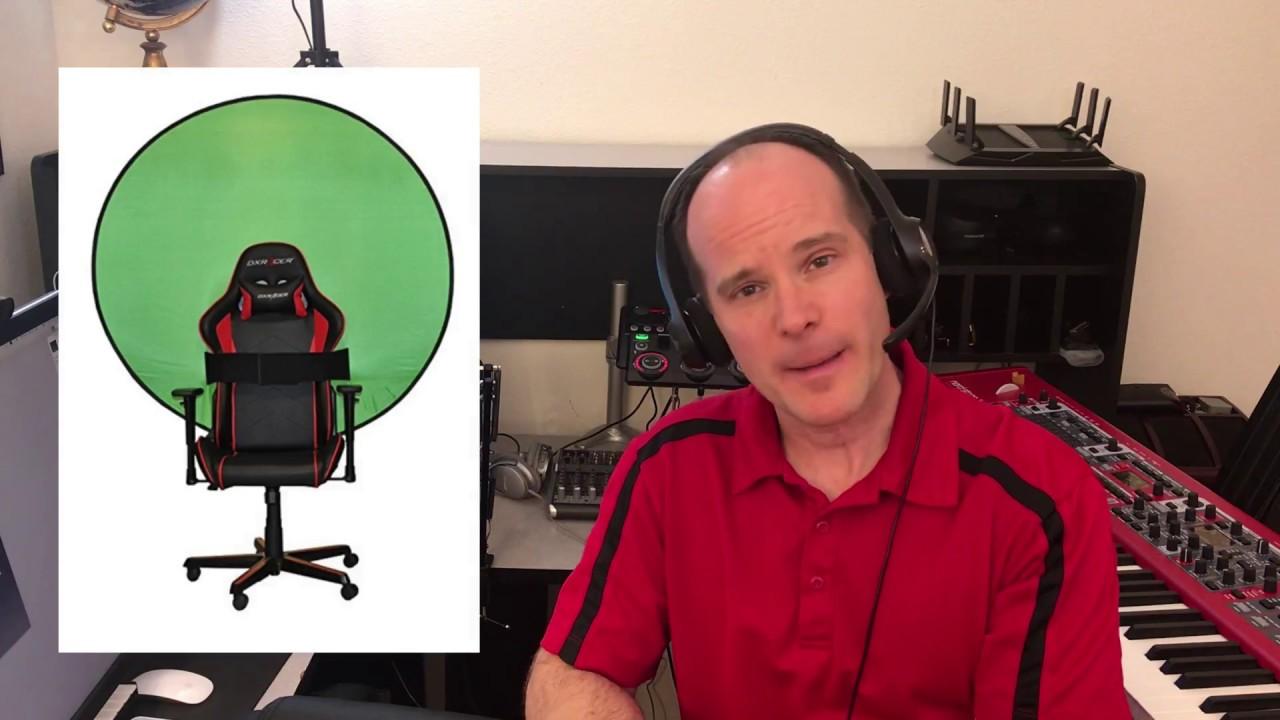 Webaround Portable Webcam Background 56 Chroma Key Green