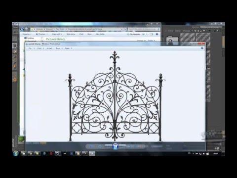 pack clôtures et portails en fer forgé