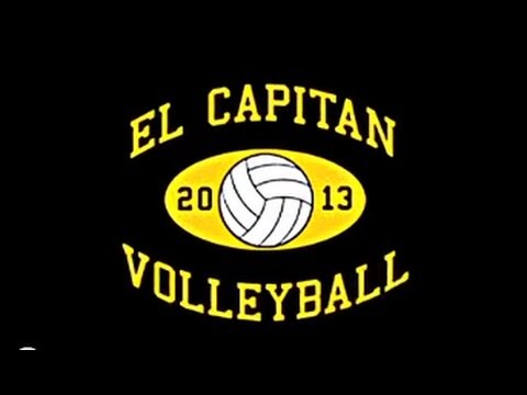 El Capitan High School Volleyball 2013