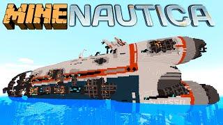 Minenautica (Minecraft Subnautica Mod Showcase)