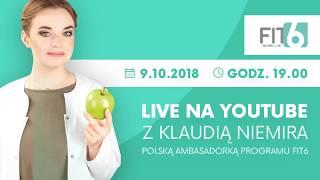 FIT6 - LIVE z Klaudią Niemira