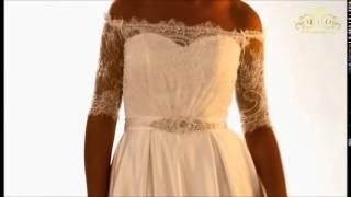 Свадебное платье Глесс, шлейф, производство