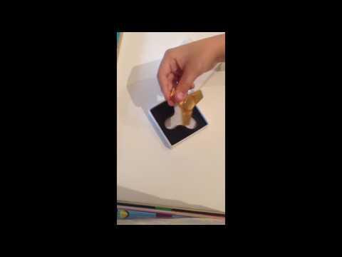 Golden fidget spinner review