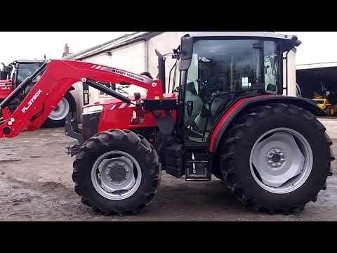Massey Ferguson 4709 c/w FL3720X loader
