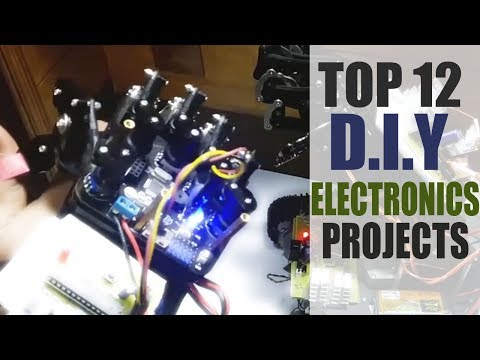 Top 12 Innovative DIY Electronics Projects Kits 2018