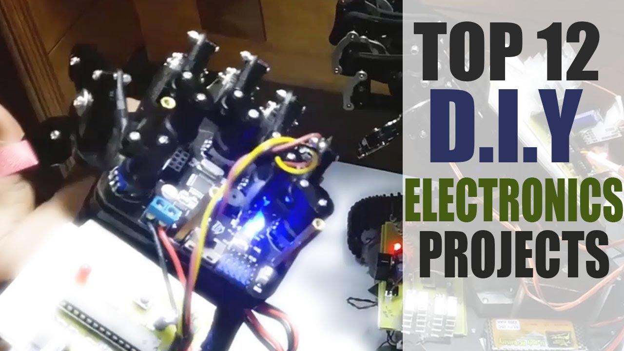 Top 12 Innovative DIY Electronics Projects Kits 2018