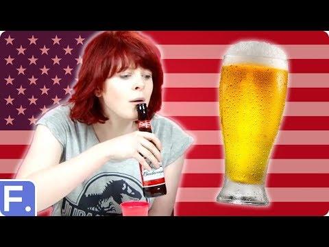 Irish People Try American Beers
