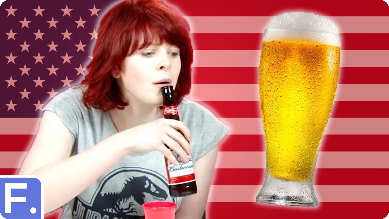 Irish People Try American Beers - YouTube