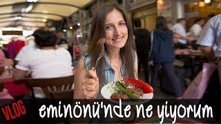 VLOG: Eminönü'nde Ne Yiyorum?   Merlin Mutfakta Yemek Tarifleri