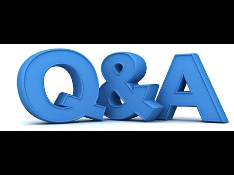 Open Q&A, Lets talk about anything, viewer choice.