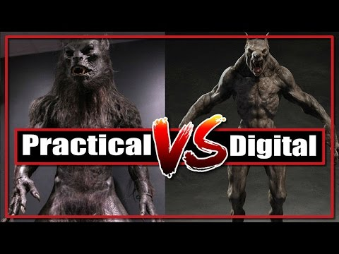 Practical Effects Vs Digital Effects:  Was old school horror better than CGI?