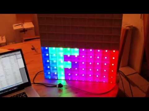 Table lumineuse avec mon arduino youtube for Table lumineuse a3