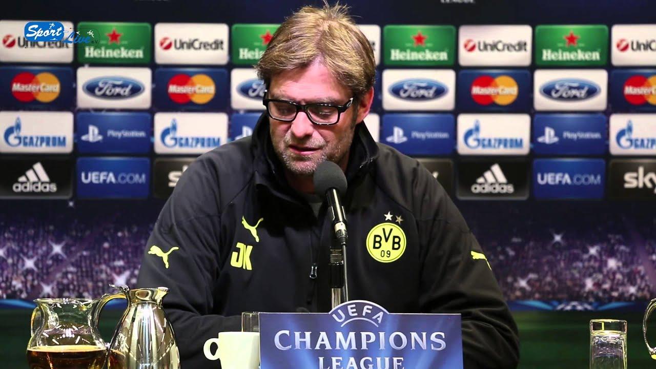 BVB Pressekonferenz vom 8. April 2013 vor dem Champions League Rückspiel Borussia Dortmund gegen Malaga CF