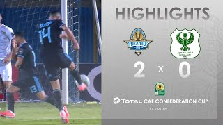 Pyramids FC 2-0 Al-Masry SC   HIGHLIGHTS   Match Day 4   TotalCAFCC