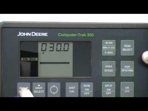 John Deere 318 >> 350 Computer Trac Monitor - YouTube