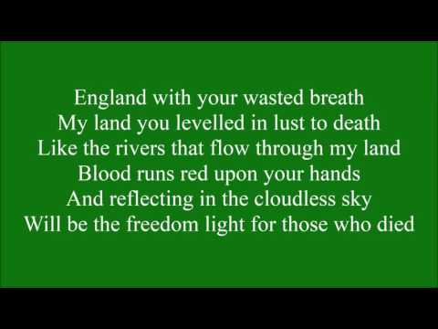 The Ballad of Bobby Sands with lyrics