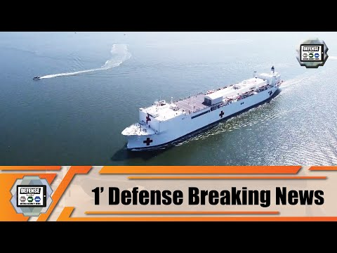 US Navy Hospital Ship USNS Comfort T-AH 20 Will Support American People In The Fight Of COVID-19