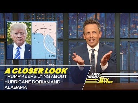 Trump Keeps Lying About Hurricane Dorian and Alabama: A Closer Look