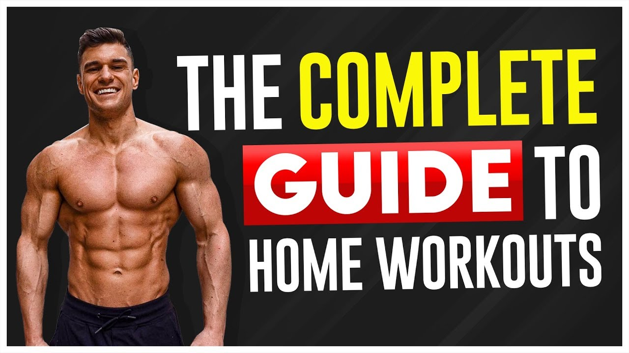 How To Train At Home Bodybuilding Home Workout Program Youtube