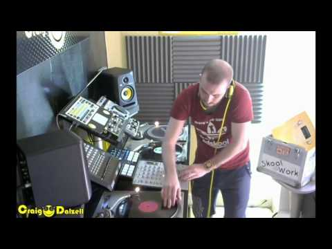 Craig Dalzell Facebook Live Podcast 011 (90s Eurodance Vinyl Mix)