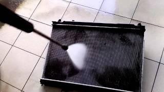 Чистка радиаторов охл двигателя и кондиционера