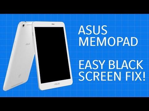 Asus Memo Pad Black Screen Fix | [Easy Fix!]