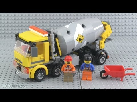 Lego City Cement Mixer 60018 Review Youtube