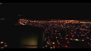 B777 Landing At New York At Night-FS2004(HD)