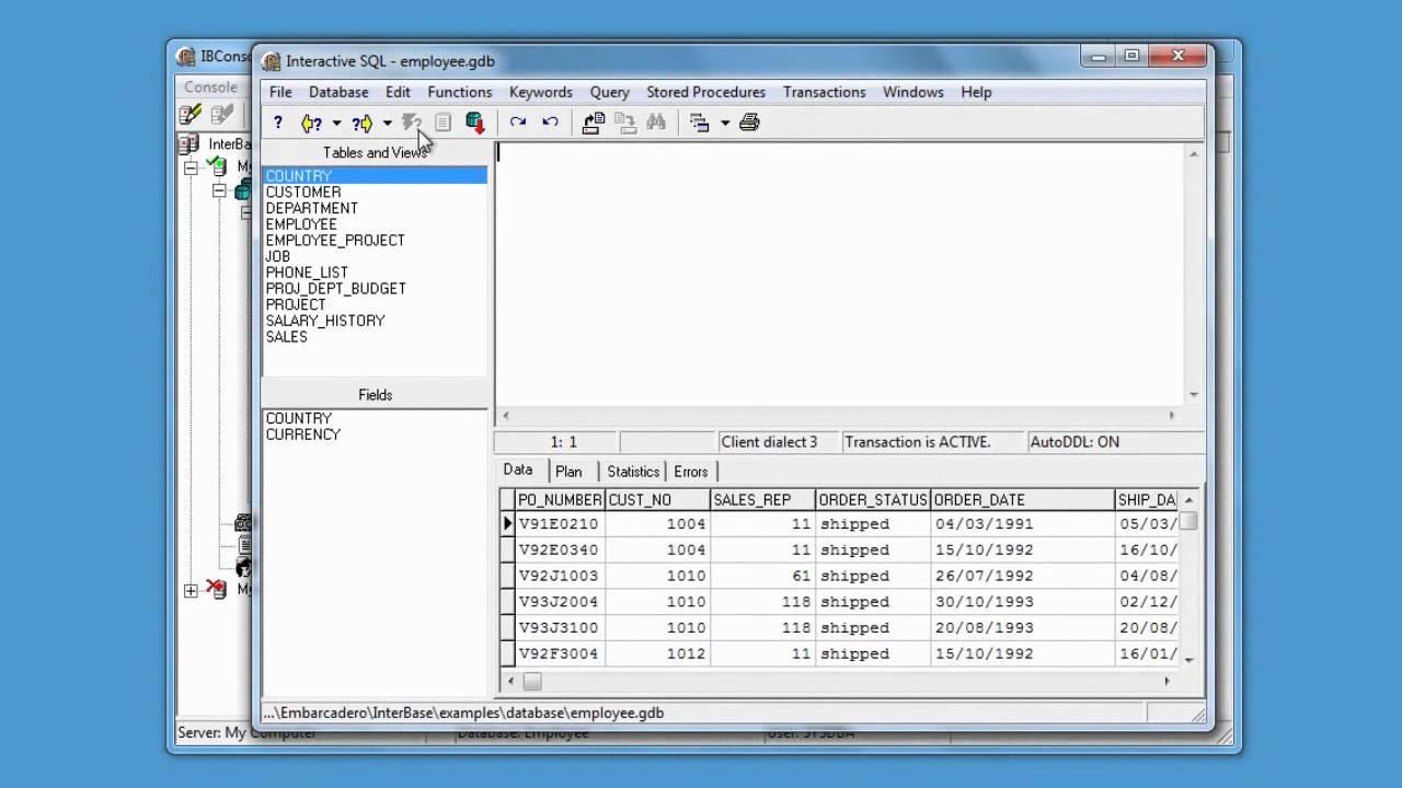 Borland InterBase Free Download