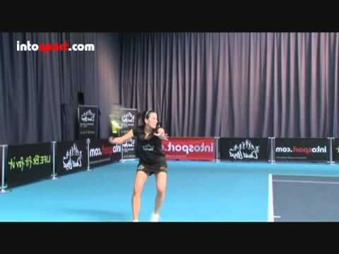 Tennis- Topspin Forehand Technique (Right Handed)
