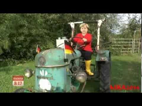 """Angela Merkel Song: """" Mutti macht ernst""""antwort auf """"Hätte, hätte, Fahrradkette"""""""