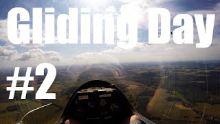 Gliding Day 2 in a K21 over Kent (HD)