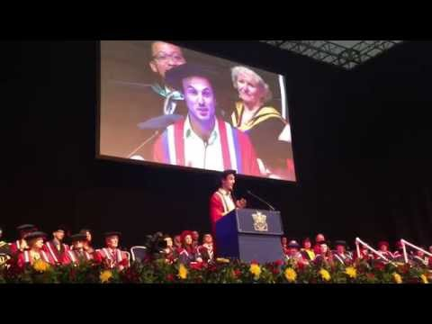 Jamie McDonald - Honorary Fellowship Award Speech