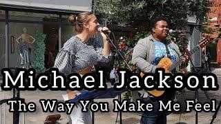 FABIO GETS THE CROWD SINGING | Michael Jackson - The Way You Make Me Feel | Allie Sherlock \u0026 Fabio