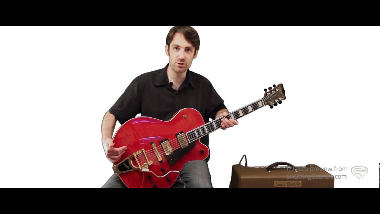 Alice Blue Gown by Chet Atkins Guitar Lesson - with Sean Weaver ...