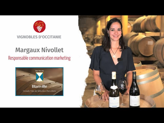 Margaux Nivollet, responsable communication marketing chez Blanville