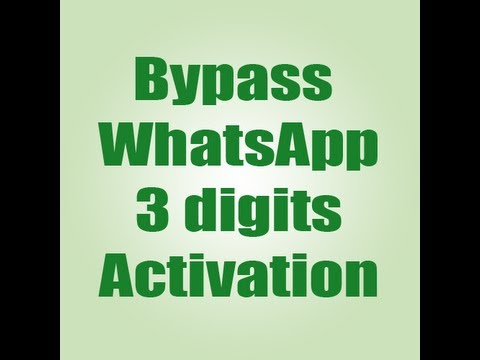 whatsapp activation code generator