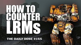 How to Counter LRMs   Shadowhawk SHD 2K   Mechwarrior Online The Daily Dose 155