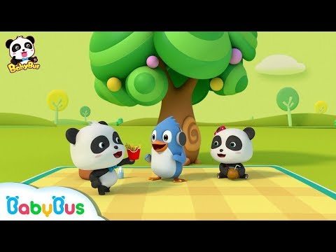 Baby Panda's Potato Chips | What are Potatoes? | Learning Cartoon for Kids | BabyBus