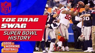 The Super Bowl's Top Toe-Tap Catches of All-Time | Good Morning Football | NFL Highlights