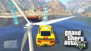 MODDED DEATH RACE!' - GTA 5 Funny Moments #592 with Vikkstar