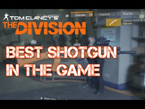 The Division best shotgun after patch 1.3 sasg-12 k