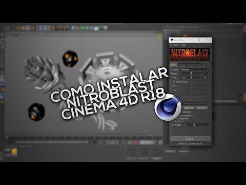 Como instalar Nitroblast - Cinema 4D R18
