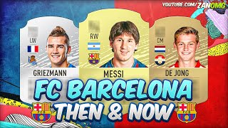 FIFA 20 | FC BARCELONA FIRST AND PRESENT FUT CARDS! 😱 | FIFA 09 - FIFA 20