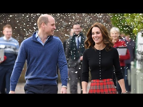 Kate Middleton and Prince William Bring Holiday Cheer to Military Families