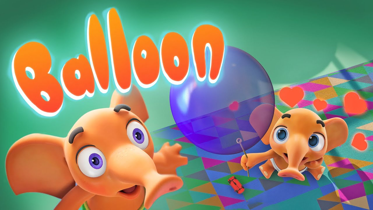 """BALLOON"" 🎈 BellyFant • Funny Cartoon Animation"