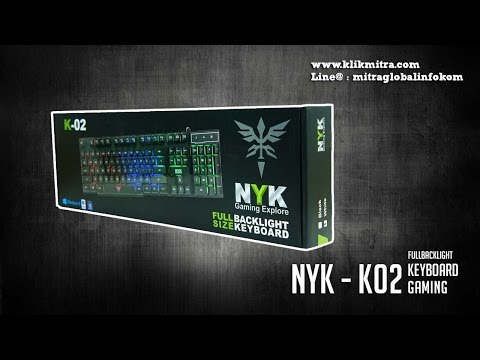 KEYBOARD GAMING K02 NYK
