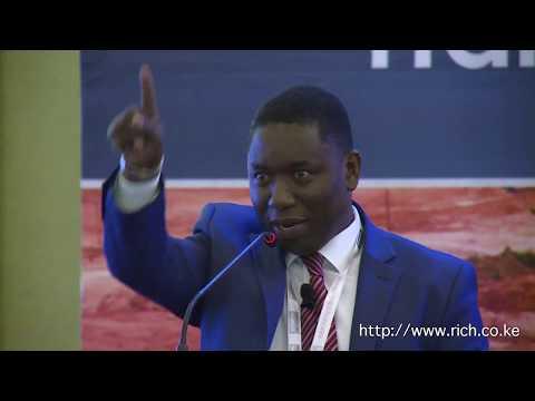 Kenya Mining Forum, Presentation By Hon Dan Kazungu CS Ministry Of Mining @kenyaminingfor
